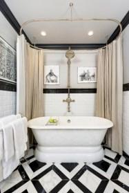 Cool modern geometric concept bathroom designs ideas (23)