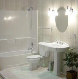 Cool modern geometric concept bathroom designs ideas (26)