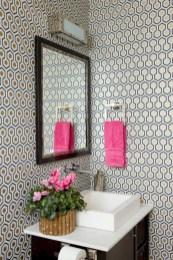 Cool modern geometric concept bathroom designs ideas (27)