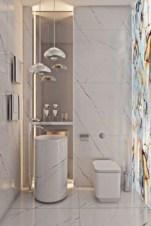 Cool modern geometric concept bathroom designs ideas (29)