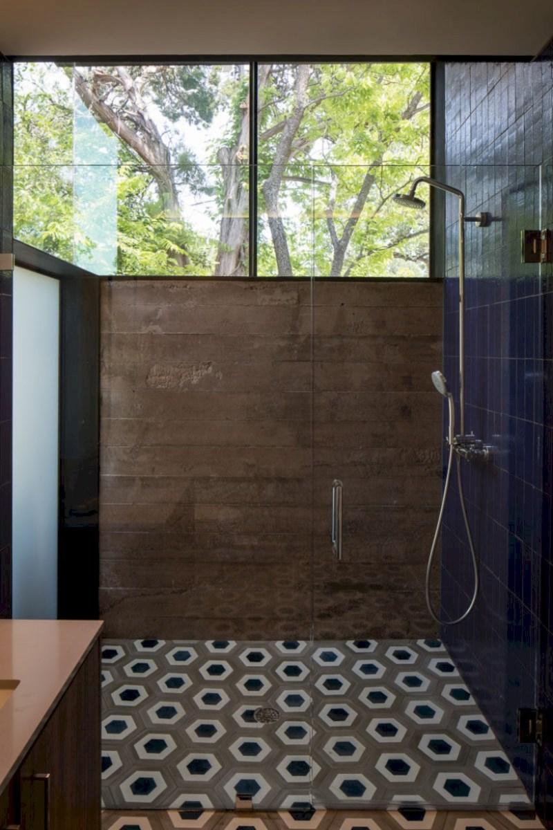 Cool modern geometric concept bathroom designs ideas (38)
