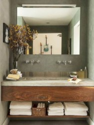Cool small bathroom remodel inspirations ideas 22