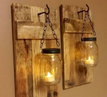 Creative diy rustic home decor ideas 02