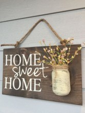Creative diy rustic home decor ideas 08