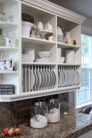 Creative kitchen open shelves ideas on a budget 03