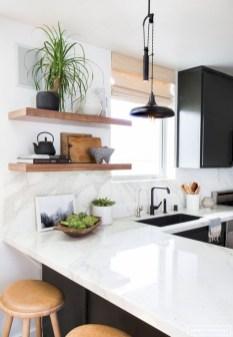 Creative kitchen open shelves ideas on a budget 07