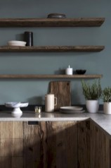 Creative kitchen open shelves ideas on a budget 11