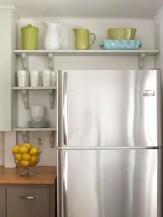 Creative kitchen open shelves ideas on a budget 15