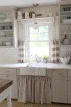 Creative kitchen open shelves ideas on a budget 22