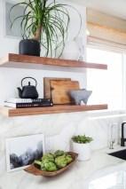 Creative kitchen open shelves ideas on a budget 28