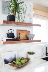Creative kitchen open shelves ideas on a budget 28