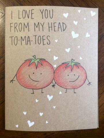 Creative valentine cards homemade ideas 19