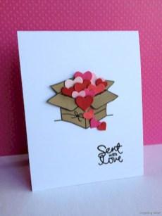 Creative valentine cards homemade ideas 32
