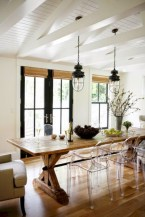 Fancy french country dining room table decor ideas 02