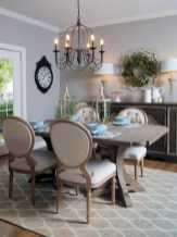 Fancy french country dining room table decor ideas 03
