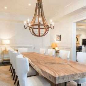 Fancy french country dining room table decor ideas 13