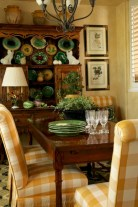 Fancy french country dining room table decor ideas 29