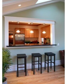 Fascinating kitchen islands ideas with seating and dining areas (39)