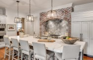 Fascinating kitchen islands ideas with seating and dining areas (6)