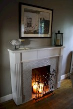 Gorgeous apartment fireplace decor ideas (2)