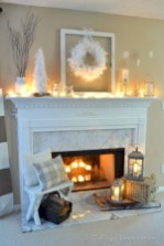 Gorgeous apartment fireplace decor ideas (30)