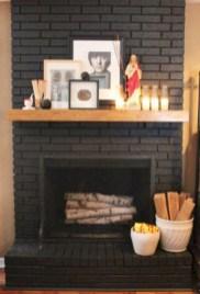 Gorgeous apartment fireplace decor ideas (33)