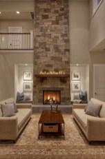 Gorgeous apartment fireplace decor ideas (40)