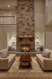 Gorgeous apartment fireplace decor ideas (40)