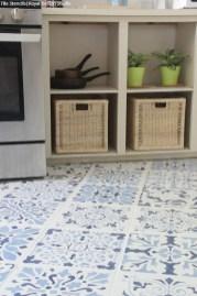 Gorgeous kitchen floor tiles design ideas (14)