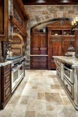Gorgeous kitchen floor tiles design ideas (17)