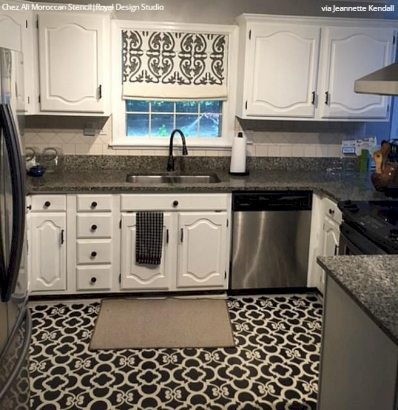 41 Gorgeous Kitchen Floor Tiles Design Ideas