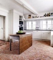 Gorgeous kitchen floor tiles design ideas (39)