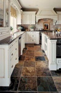 Gorgeous kitchen floor tiles design ideas (5)