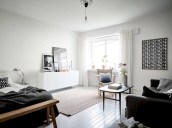 Inspiring grey studio apartment decor ideas on a budget (12)