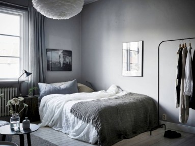 Inspiring grey studio apartment decor ideas on a budget (2)