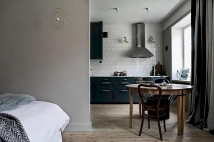 Inspiring grey studio apartment decor ideas on a budget (27)