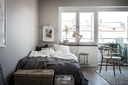 Inspiring grey studio apartment decor ideas on a budget (29)