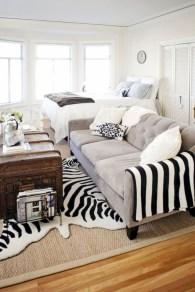 Inspiring grey studio apartment decor ideas on a budget (30)