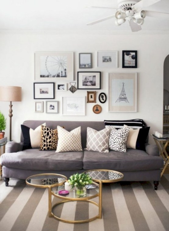 Inspiring grey studio apartment decor ideas on a budget (35)