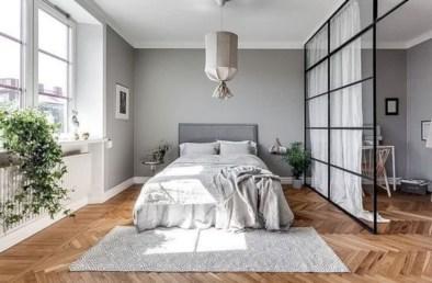 Inspiring grey studio apartment decor ideas on a budget (37)