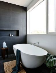 Luxury black and white bathroom design ideas 09
