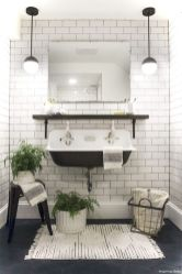 Luxury black and white bathroom design ideas 10