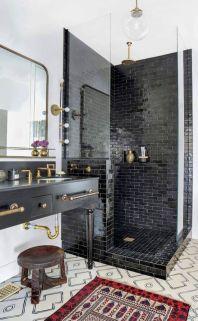 Luxury black and white bathroom design ideas 11