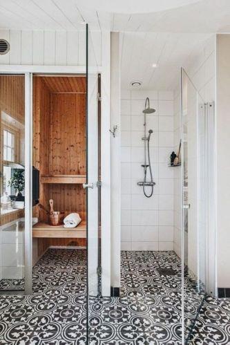 Luxury black and white bathroom design ideas 21