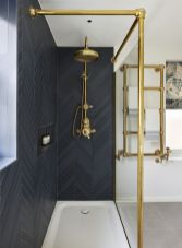 Luxury black and white bathroom design ideas 24