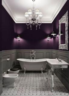 Luxury black and white bathroom design ideas 29