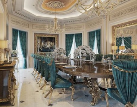 Luxury dining room design ideas you will love (10)