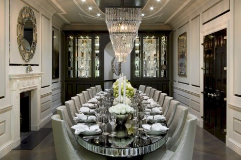 Luxury dining room design ideas you will love (25)