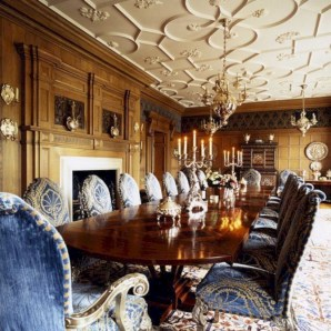 Luxury dining room design ideas you will love (45)