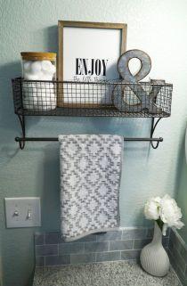 Modern farmhouse bathroom decor ideas (1)